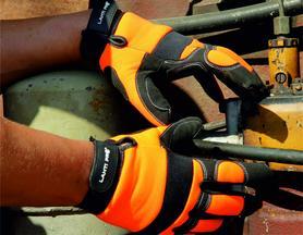 Pracuj bezpiecznie - Chronimy dłonie