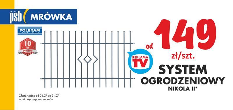system ogrodzeniowy Nikola II