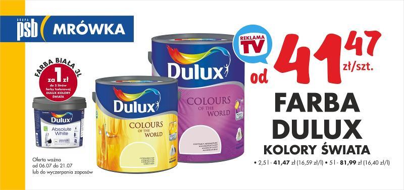 farba dulux promocja