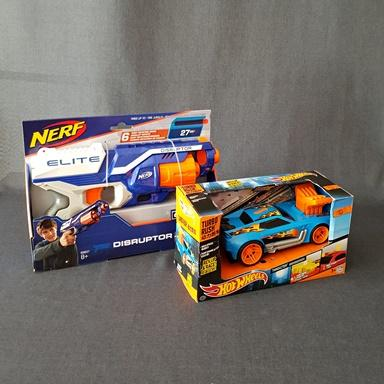 PISTOLETY-NERF-HOT-WHEELS