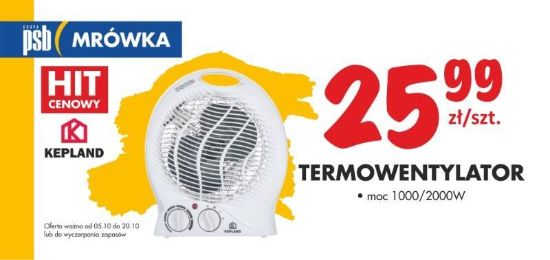 termowentylator nasielsk