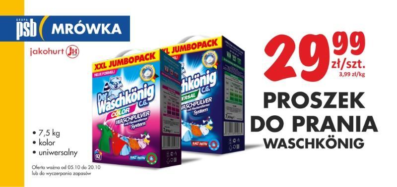 proszek do prania waschkonig nasielsk