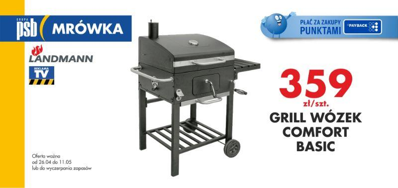 grill wózek comfort basic