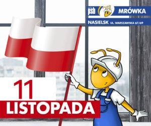 11 01 11 listopada flagi 300x251 Aktualności