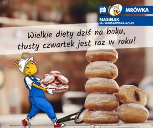 mrowkanasielsk tlusty czwartek 300x251 Aktualności