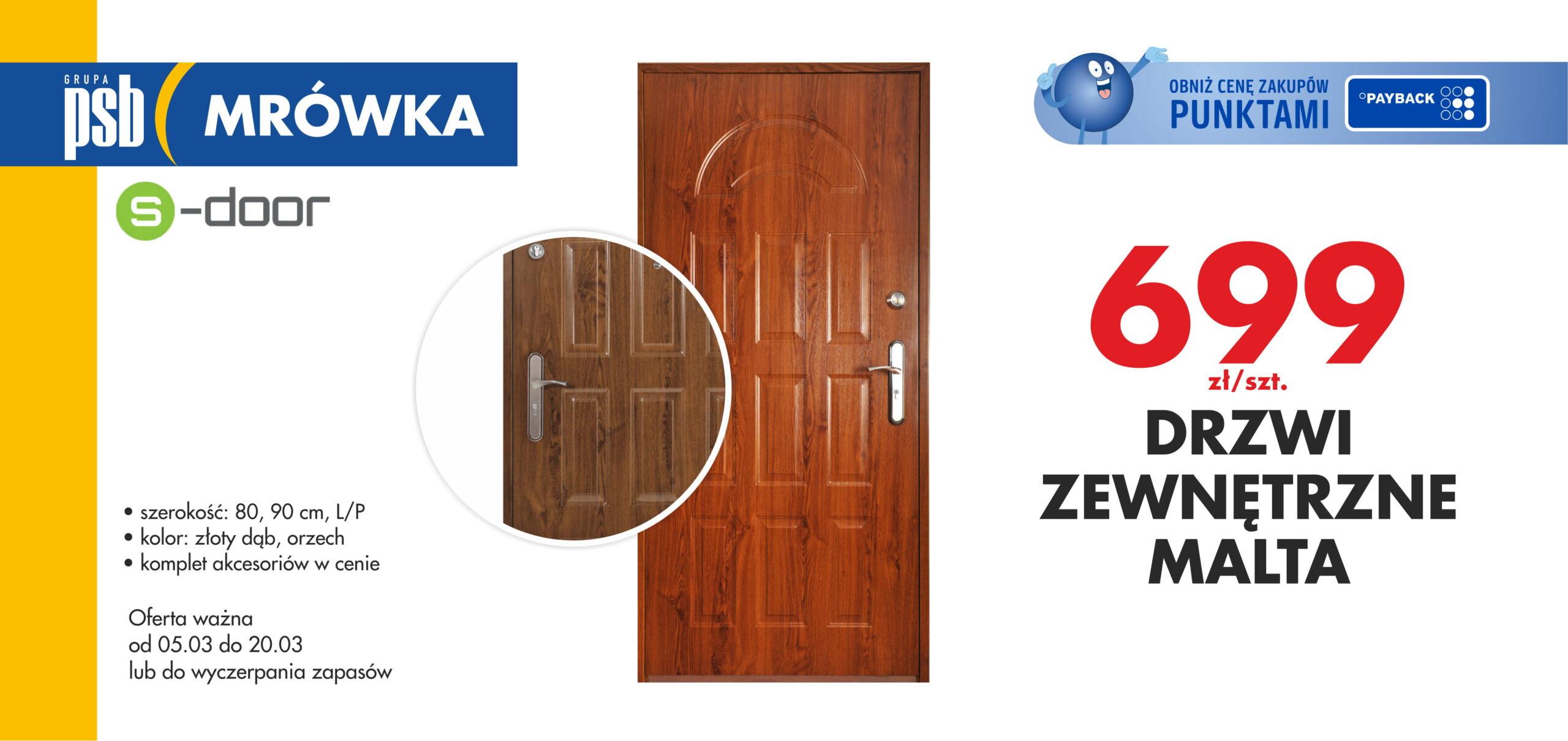 Drzwi Malta